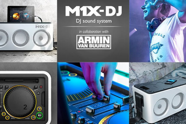 M1X-DJ from Philips and Armin van Buuren