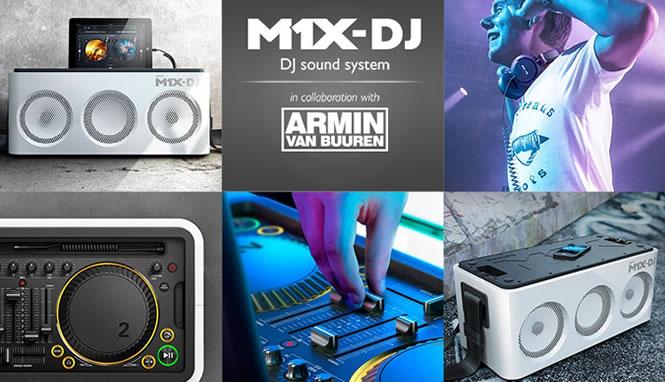 M1X-DJ from Philips and Armin van Buuren