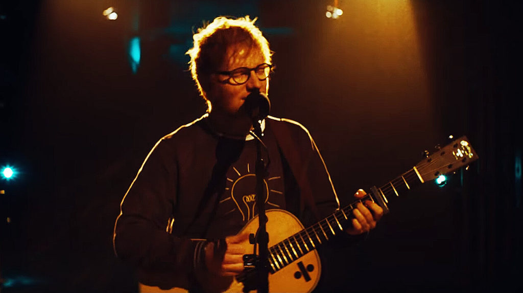Listen here the acoustic version of Eraser the very first track from Ed Sheeran's new album